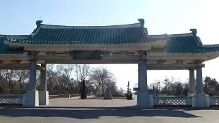 Северная Корея (КНДР), город Раджин (Расон 라선), центр. (Rajin city of Rason,  North Korea (DPRK).)