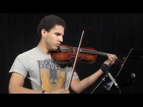 Bijan Moore Niskayuna High School Violin Audition Dec 2016