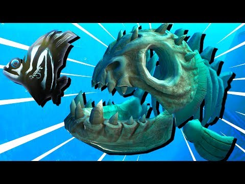LIVING FOSSIL Fish EATS the OCEAN! - Feed and Grow Fish Gameplay
