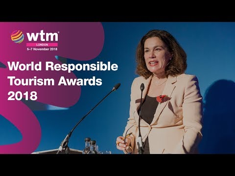 The World Responsible Tourism Awards 2018 with Tanya Beckett from the BBC