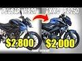 LA NUEVA COPIA DE LA PULSAR NS200!! Top 5: Motos ¿IMITACIÓN? de otras Motos! (PARTE #3)
