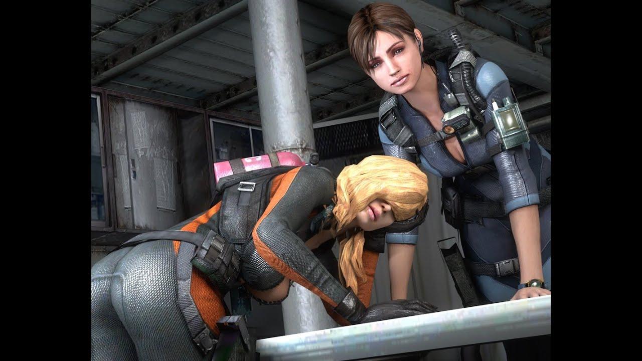 DEM BOOB JIGGLE PHYSICS - Resident Evil Revelations Multiplayer Gameplay
