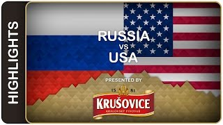 Russia easily beats USA | Russia-USA HL| #IIHFWorlds 2016
