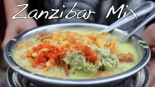 Zanzibar Mix and other Indian Tanzanian Street Food Snacks
