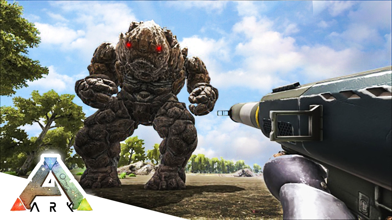 ark survival evolved how to kill rock elemental
