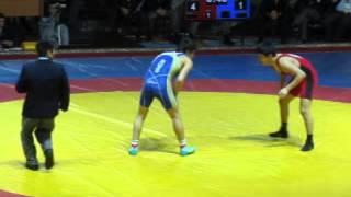 60кг за 3 место Н.Охлопков (Саха) - И.Аджиев (Дагестан)
