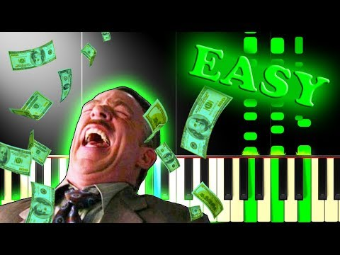 ABBA - MONEY MONEY MONEY - Easy Piano Tutorial