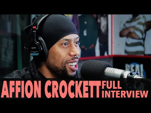 Affion Crockett Does Impressions, Talks Comedy, And More! Full   BigBoyTV