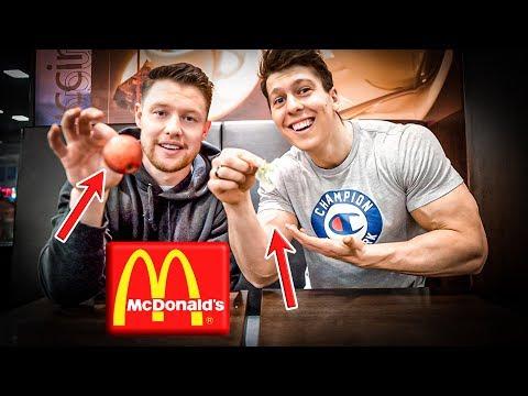 Wer Isst Weniger Kcal Bei McDonald's? (5 Produkte Pro Person)
