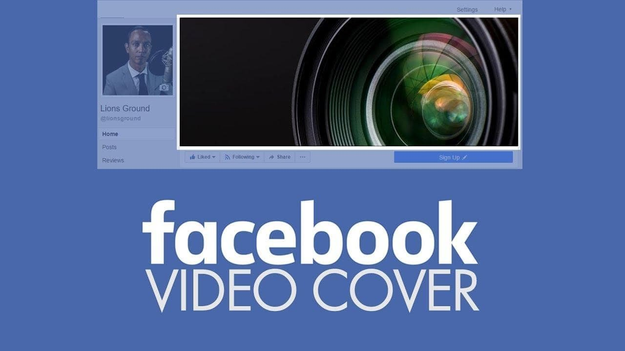 How to Make FACEBOOK COVER VIDEOS | Professionally Designed Facebook Page Cover Videos