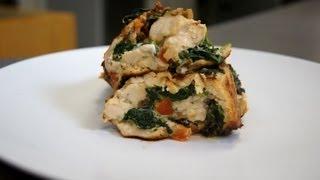Stuffed Italian Romano Chicken
