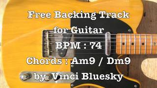 free backing track for guitar slow fusion