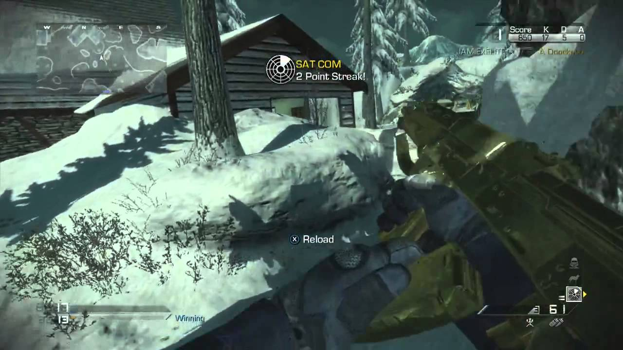 Call Of Duty Ghosts  GOLD Vepr 1 'WEAPON' XBOX   PS3 GAMEPLAY 'COD GHOSTS' 1
