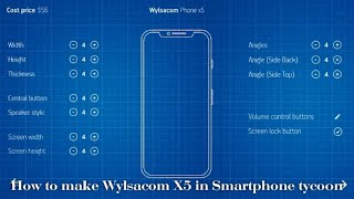 How to make Wylsacom X5 in Smartphone tycoon || Hack || Winning wednesday special.