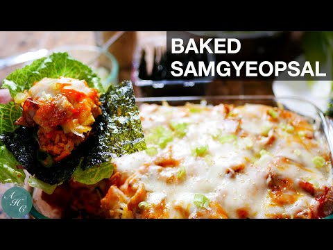 How to make Baked Samgyeopsal Recipe