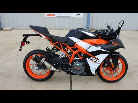 $5,499:  2017 KTM RC 390 Overview and Review