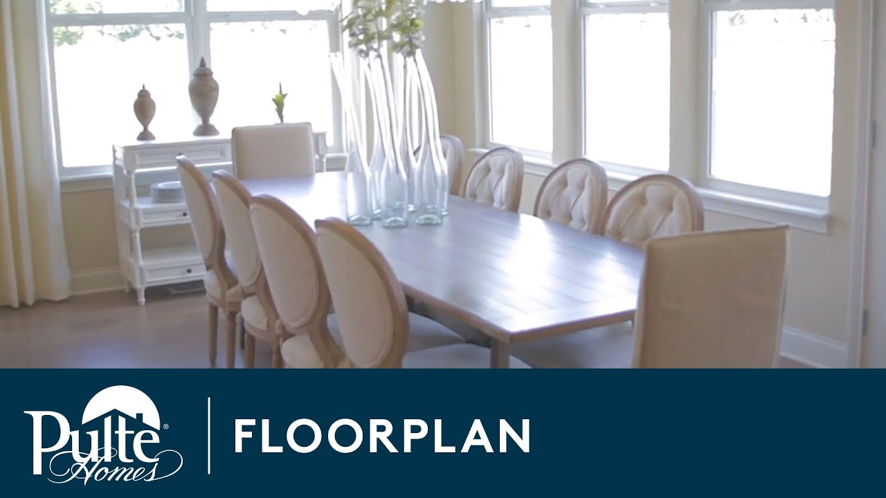 New Homes by Pulte Homes – Lyon Floorplan - YouTube