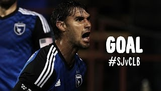 GOAL: Chris Wondolowski heads a corner home | San Jose Earthquakes vs Columbus Crew