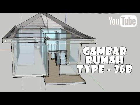 Gambar 2# | Rumah Type 36 | Dua Kamar | Ruang Tamu ...