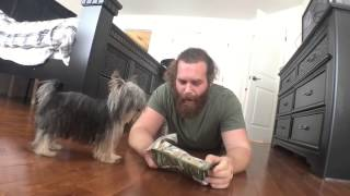 It Takes a Big Man to Wash A Small Dog - Video Diary