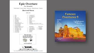 Editions Marc Reift – Epic Overture - for Concert Band