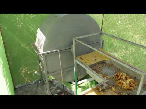 ЛЕПИЛЫ. Передвижной мини цех по откачке мёда