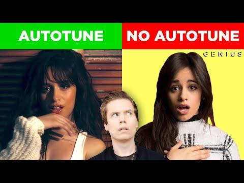 Autotune vs No Autotune Camila Cabello Nick Jonas & MORE