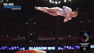 PASEKA Maria (RUS) - 2015 Artistic Worlds - Qualifications Vault 2