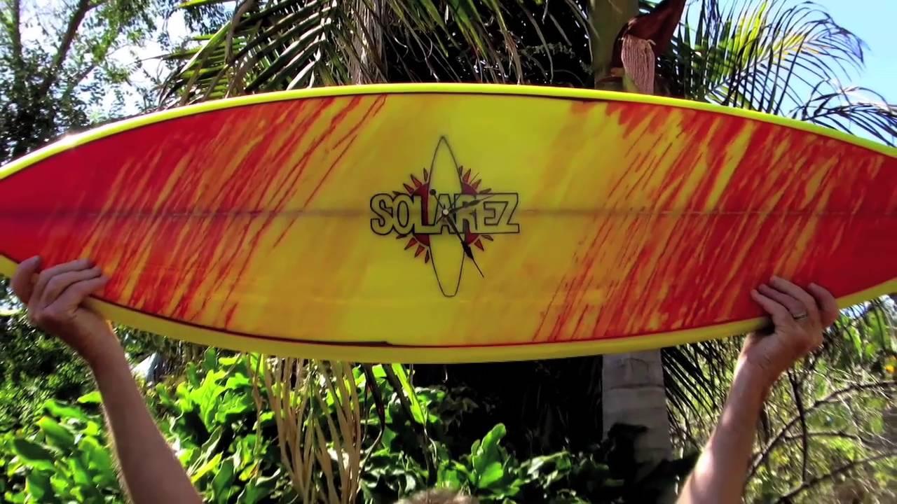 Solarez UV Cure Color Stain Surfboard