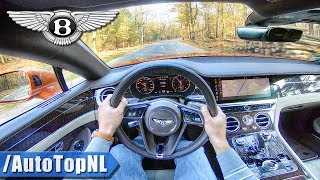 2019 Bentley Continental Gt 6.0 W12 Biturbo 635hp Pov Test Drive By Autotopnl