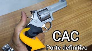 Porte de arma definitivo para os CACs melhor notícia!