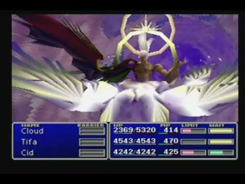 Final Fantasy 7 North Cave, Jenova and Sephiroth Battles, and Ending