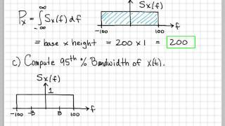 Power Spectral Density Computations - (Fall 2013, EE504, Exam 1 Problem 1)