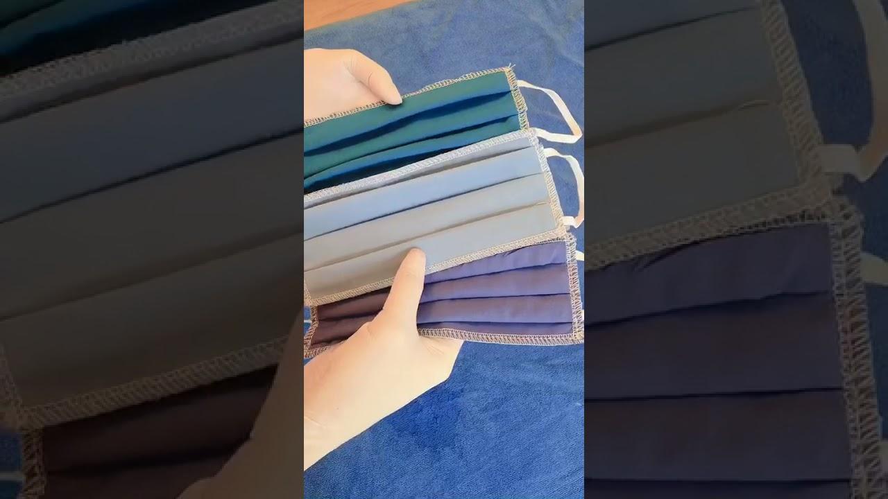 Khẩu trang vải 3 lớp kháng khuẩn chống virus tái sử dụng nhiều lần