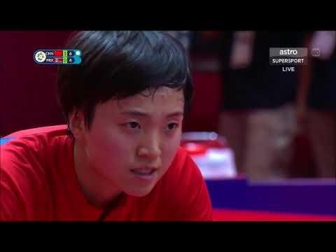 Asian Games 2018 WT Final Zhu Yuling Vs Kim Song I