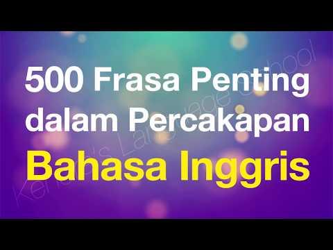 500 Frasa Penting dalam Percakapan Bahasa Inggris - Beginner English for Indonesian speakers