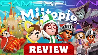An Incredibly Quirky Adventure - Miitopia REVIEW (Switch) (Video Game Video Review)