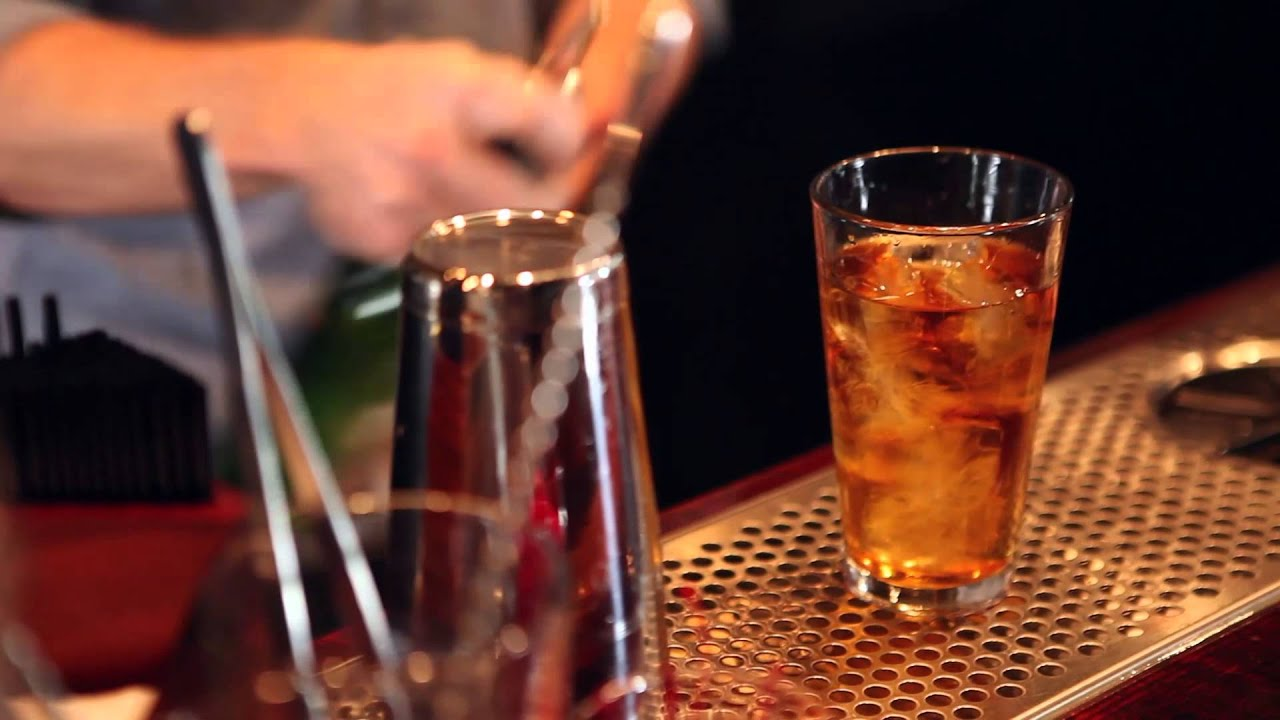 how to make a fireball whisky drink fiery manhattan youtube
