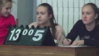 I тур (U -17) Ч У по пляжному волейболу в помещениях среди юношей 19.01.2017. (6 ч.)