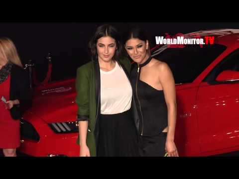 Jessica Szohr arrives at DreamWorks Pictures 'Need For Speed' Los Angeles premiere