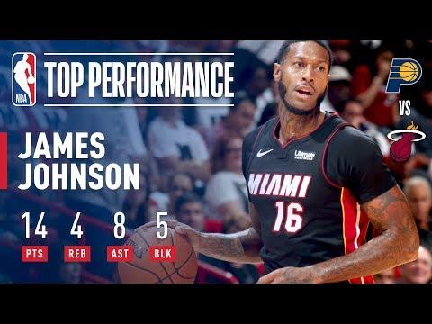 James Johnson HUGE Dunk vs. Pacers, Full Highlights | October 21, 2017