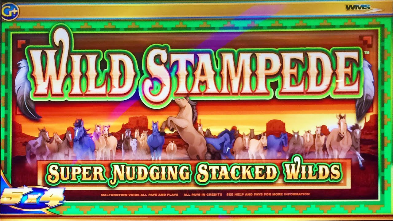 Wild Stampede Slot Machine