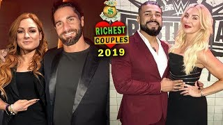 10 WWE Couples Richer Than You Thought 2019 - Seth Rollins & Becky Lynch, Charlotte & Andrade