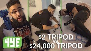 2 tripod vs 24 000 tripod