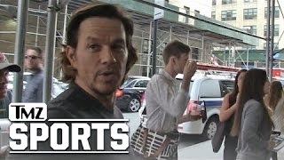 Mark Wahlberg Says The Pats Are The Best!! | TMZ Sports