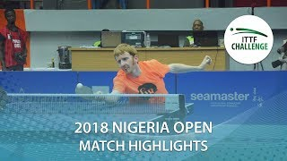 Hassan Nurudeen vs Rumgay Gavin | 2018 Nigeria Open Highlights (R64)