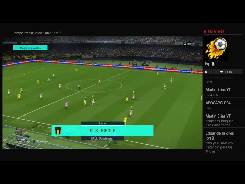 Pes 18 -MyClub -Probando el DLC 3.0(Momento sobada en min 2:44:00)