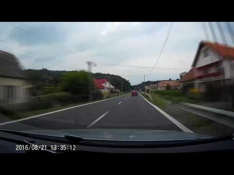 Road E77 Zvolen - Sahy Slovakia