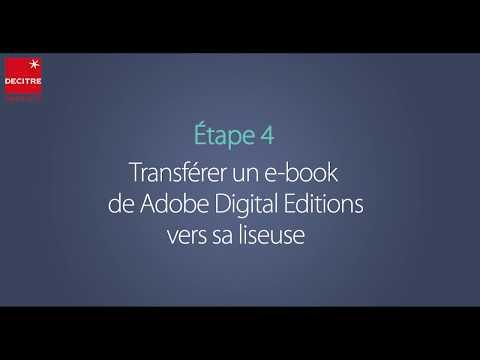 Comment Transférer Un E-book Sur Sa Liseuse Depuis Adobe Digital Editions