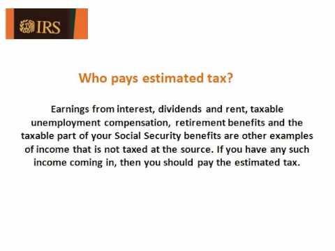 Get Knowledge About Irs Tax Form Es  Youtube